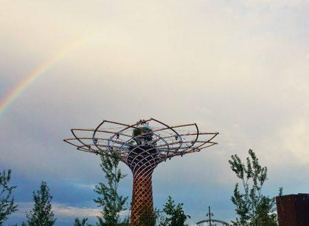 L'arcobaleno dopo la pioggia